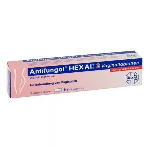 Antifungol Hexal 3 Vaginaltabletten